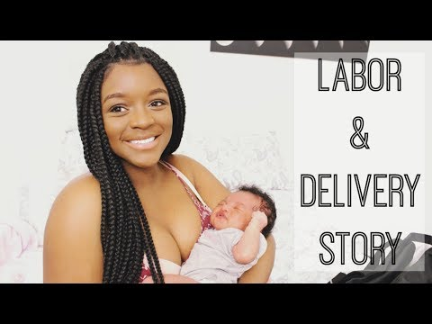 LABOR AND DELIVERY STORY! (RIAN'S HERE!!!) | Tierian La'Shae