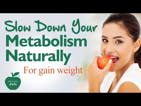 How to Slow Down Your Metabolism Naturally