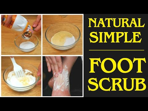 How to Make Exfoliating Homemade Foot Scrub to Remove Dead Skin?