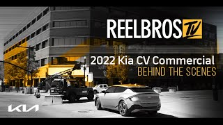 Revealing the 2022 Kia EV6 Commercial with our Motocrane in Utah! Behind the Scenes | Reelbros TV