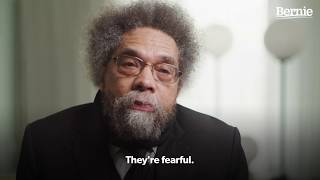 Dr. Cornel West Explains Why Bernie Beats Trump