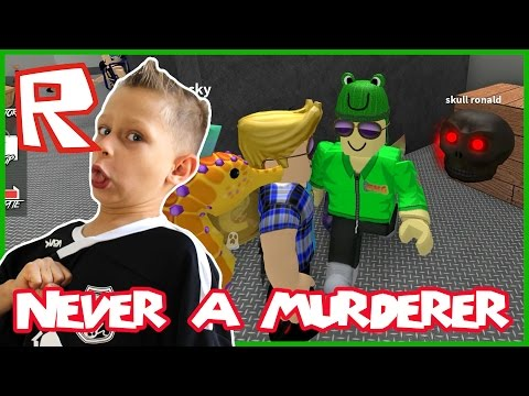 Murder Mystery 2 / Birthday Special And I'm Never The Murderer ?!? / Roblox