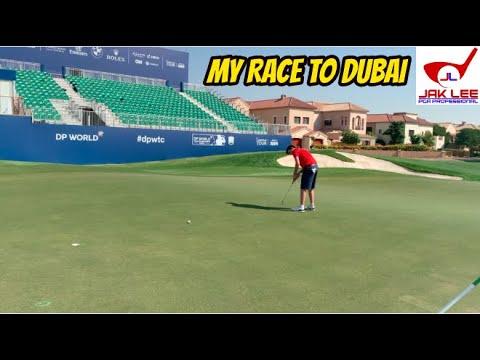 PLAYING THE EARTH COURSE @ JUMERIAH - DUBAI VLOG