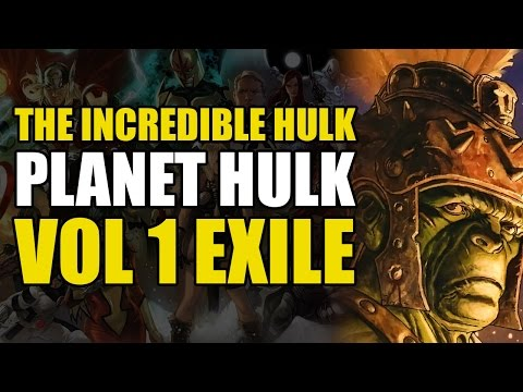 Hulk vs The Silver Surfer (Planet Hulk Vol 1: Exile)