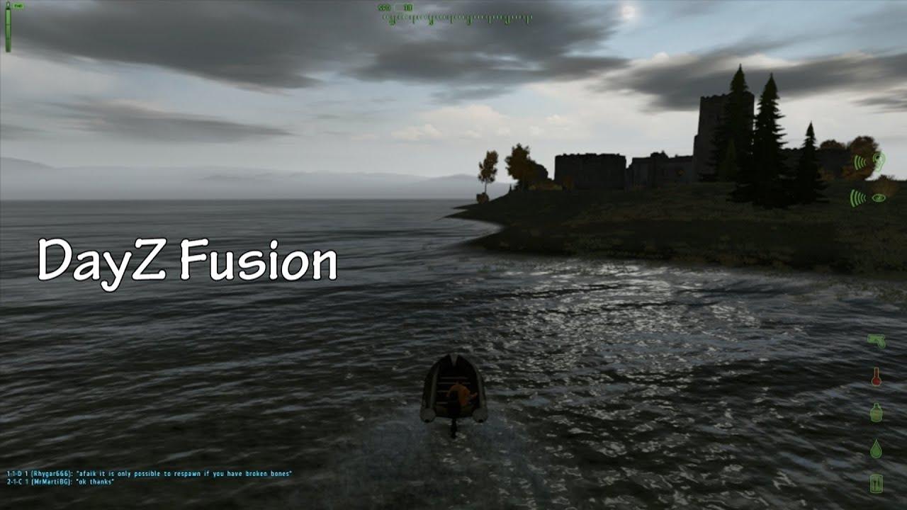 DayZ Fusion - Le Mélange Ultime ! - Nouveau mod sur une nouvelle map, pour notre plus grand plaisir !