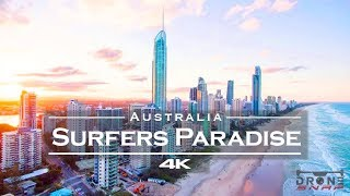 Surfers Paradise🏄♂️ Gold Coast, Australia 🇦🇺 - by drone [4K]