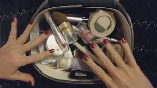 ASMR ~ Cosmetics Bag Rummaging / Show & Tell (Whisper)