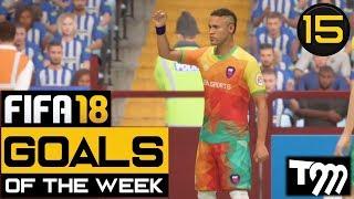 Fifa 18 - TOP 10 GOALS OF THE WEEK #15 (Best Fifa 18 Goals)
