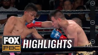 Jhack Tepora grinds out a tough win against Luis Gallegos | HIGHLIGHTS | PBC BOXING