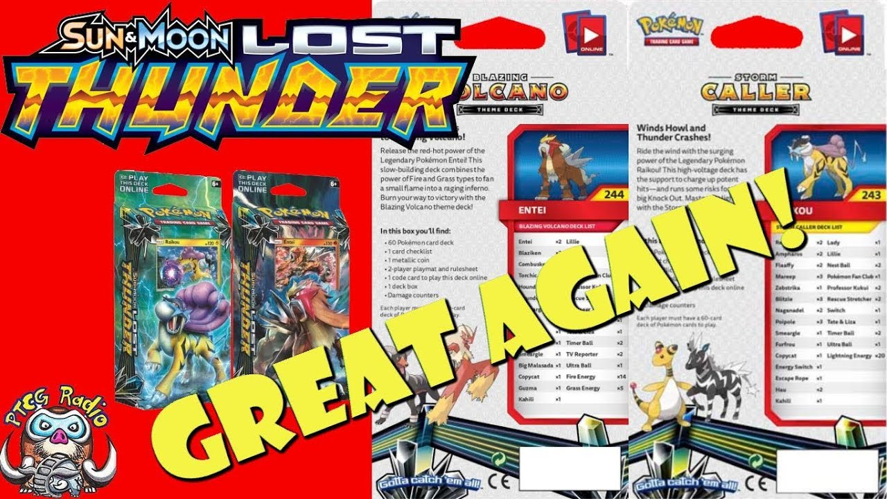 Pokemon HD: Pokemon Sun And Moon Lost Thunder Card List