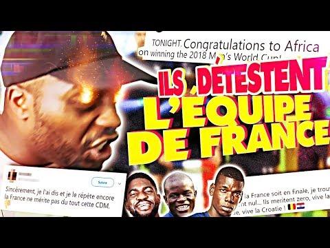 LES PIRES TWEETS SUR L'EQUIPE DE FRANCE CHAMPIONNE DU MONDE !