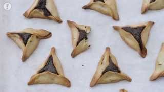 Stopmotion - Hamantaschen Recipe  With Poppy Seed Filling