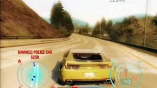 2010 Camaro Bumblebee Need for Speed Undercover