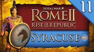 SPARTA COME TO AID Total War ROME II Rise of the Republic Syracuse C aign Gameplay 11