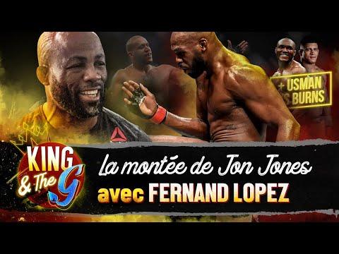 La montée de Jon Jones en heavyweight + UFC 258 : L'analyse de Fernand Lopez | King & The G #3