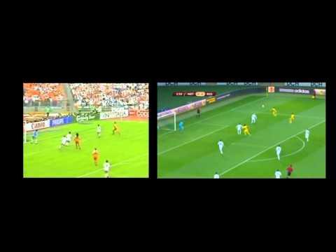 Greatest goals: Marco van Basten vs Taison
