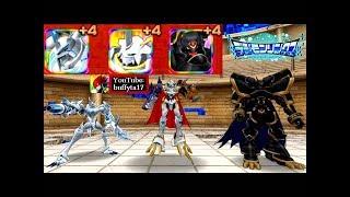Digimon Linkz Battle VS Omegamon Merciful Mode, Omegamon X & Alphamon