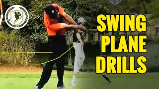 FIX YOUR GOLF SWING PLANE - PERFECT BACKSWING TIPS