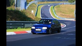 Kadett GSI Turbo nurburgring nordschleife