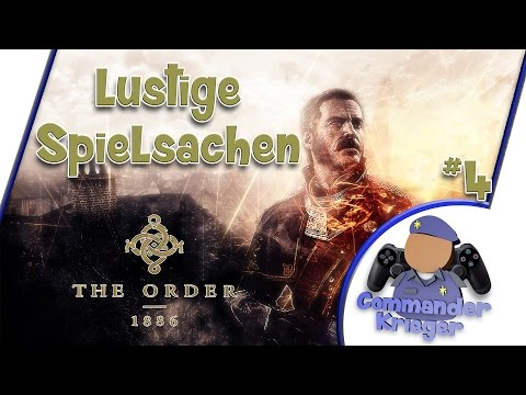 Let's Play The Order 1886 Gameplay PS4 Part 4 - lustige Sachen