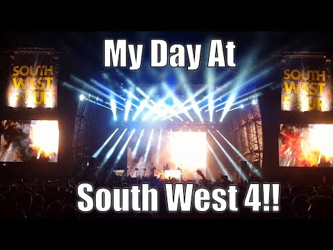 My day at South West 4! SW4 Vlog - Pendulum, Tinie Tempah, Netsky & More!