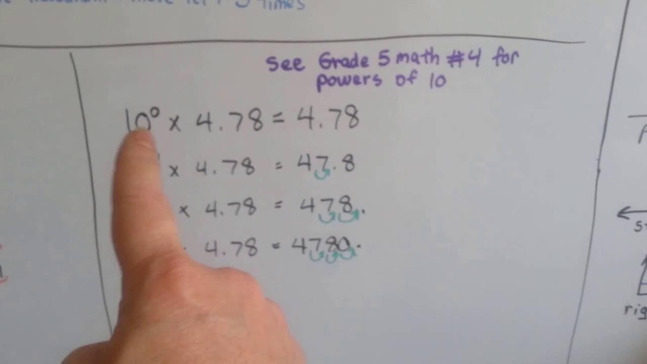 medium resolution of Grade 5 Math #4.1