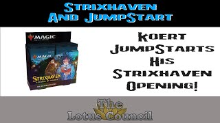 Koert JumpStarts into a Strixhaven Collector Booster Box!