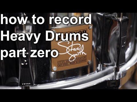 How to Record Heavy Drums - Part Zero | SpectreSoundStudios TUTORIAL