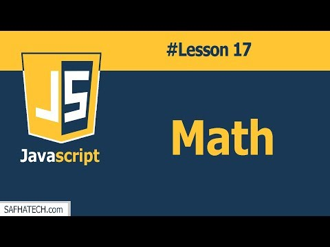 How to Deal with Math in JavaScript?   Lesson 17 JavaScript Tutorial thumbnail