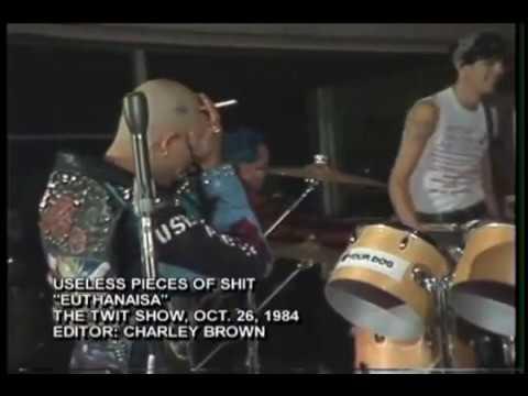 80s American Hardcore Punk - U.P.S. - Useless Pieces of Shit