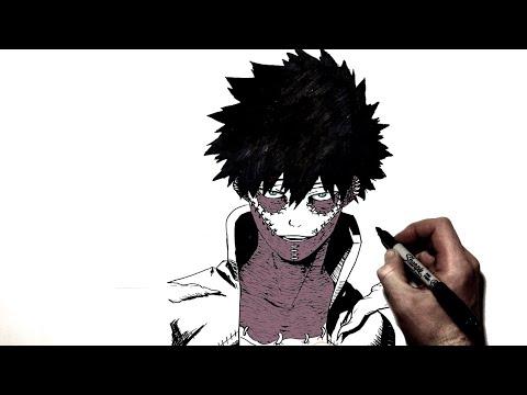 How To Draw Dabi I Step By Step | My Hero Academia