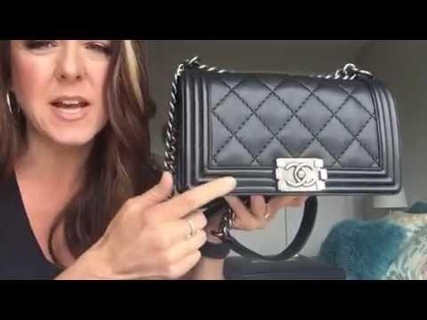 648dc9892c501 Updated wear   tear of my Chanel Le Boy bag in calfskin