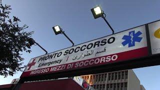 Palermo, in tilt il pronto soccorso del Civico. Pazienti Covid in ambulanza per ore