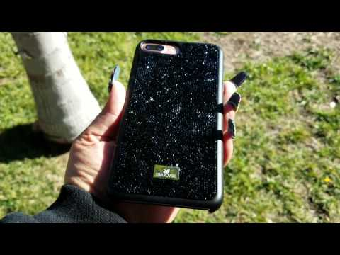 dd85a64e1 iPhone 7 Plus Swarvoski Glam Rock Case Review - YouTube