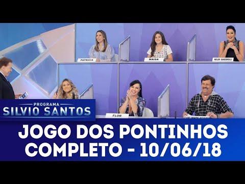 Jogo dos Pontinhos - Completo   Programa Silvio Santos (10/06/18)