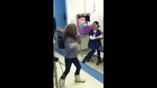 Mia Dances to Taylor Swift in the Hospital