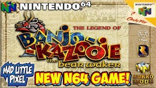 NEW Banjo Kazooie Game For The Nintendo 64! The Bear Waker! The Legend Of Zelda Crossover!