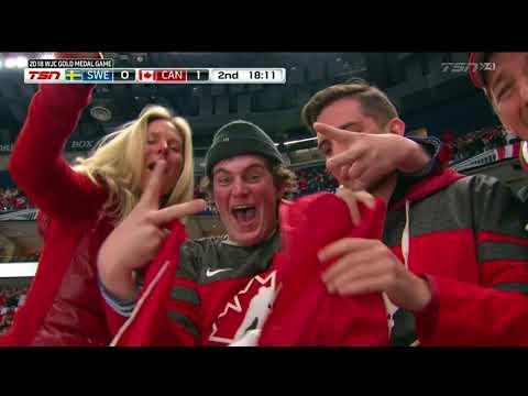 Dillon Dube 1-0 Goal - Canada vs Sweden Gold Medal Game 2018 WJC 1.5.18