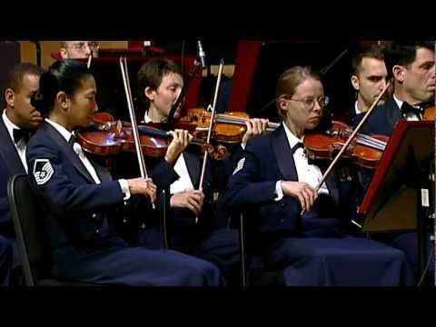 """The United States Air Force Symphony Orchestra performs Morton Gould's """"American Salute"""""""