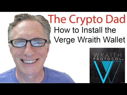 How to Install the Verge Wraith Wallet