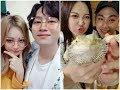 GIRL'S DAY Yura with Boy-friends