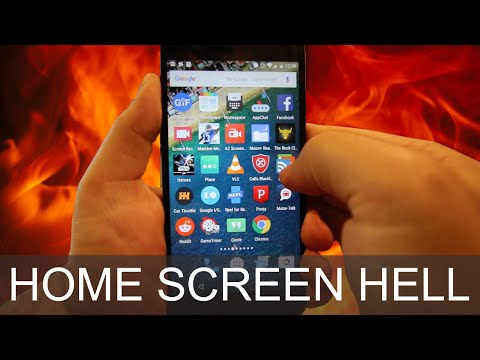 How To Reset Homescreen Layout on Android