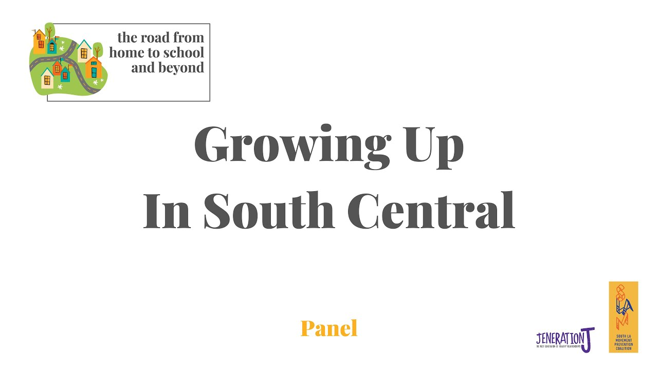 Growing Up in South Central Panel