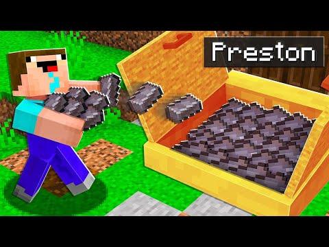 7 Ways to Steal Noob1234's NETHERITE! - Minecraft