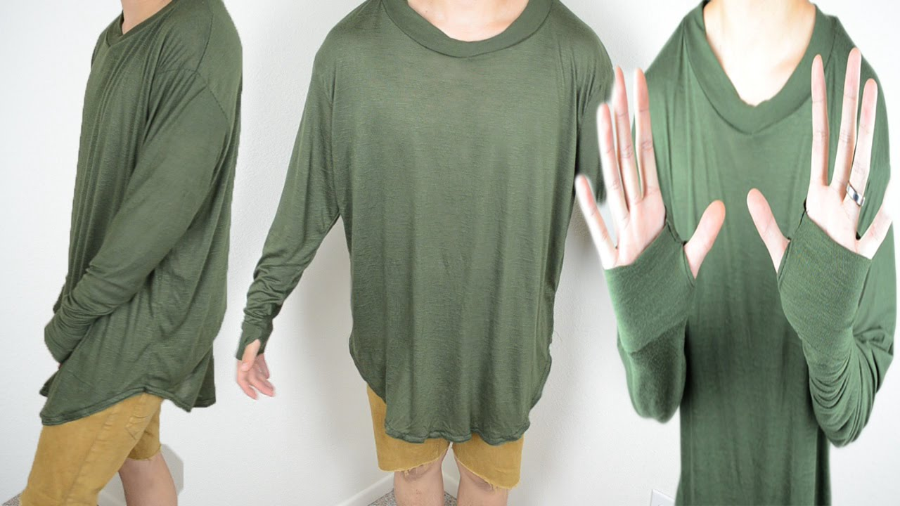DIY  Long Sleeve T-Shirt Tutorial  ea6154be8a8a