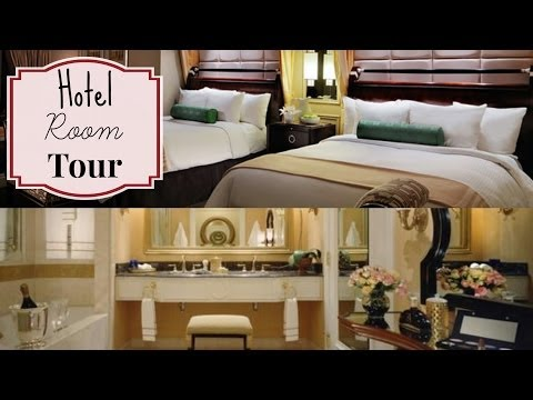 The Venetian, Bella Suite Hotel Room Tour - Las Vegas, NV