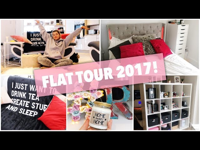 WELCOME TO MY FLAT! FLAT TOUR 2017   Rachel Leary
