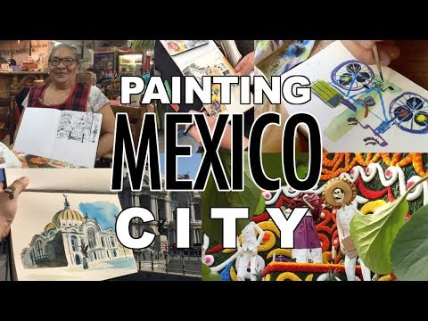 Painting MEXICO CITY