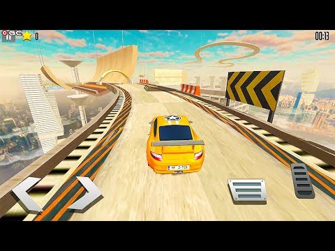 Drive Challenge – Car Driving Stunts Fun Games - Impossible Stunt Race - Android GamePlay