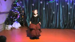 испанский танец дети 7 лет(испанский танец, балетная студия на комсомольском проспекте 46. www.balletstudio.ru., 2011-01-18T14:38:21.000Z)